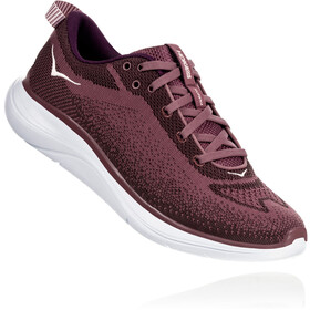 Hoka One One Hupana Flow Chaussures de trail Femme, rose brown/deep mahogany